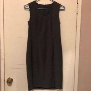 Ann Taylor sheath material work dress (sz 0P)
